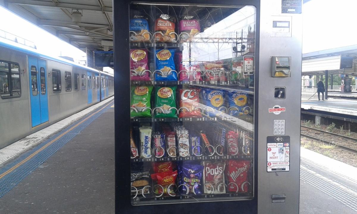 Seeing vending machine as afriend