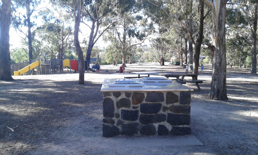 Barbecue in Wattle Park