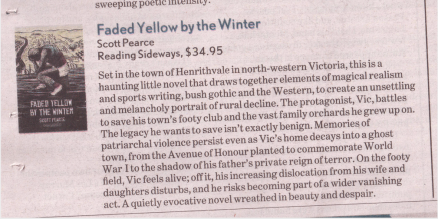 Review - Faded Yellow by the Winter